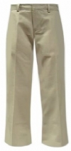 Abingdon Girls Flat Front Flare Leg School Pants <br>SALE ITEM: reg $24.95