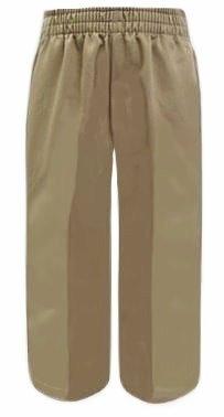Classroom Elastic Waist School Pants