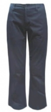 Girls Low-Rise Flare Leg School Uniform Pants