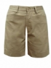 Classroom Girls Flat Front Low Rise  Bermuda School Shorts