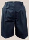 Classroom Junior Pleated Cuffed School Shorts <br>SALE ITEM: reg $17.95
