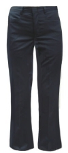 Dickies Girls Low-Rise Flare Leg School Pants
