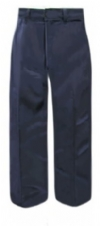 Dickies Girls Flat Front Straight Leg School Pants