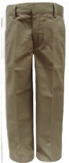 French Toast Young Mens Flat Front school Uniform Pants