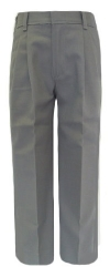 Rifle Boys Pleated Grey School Pants