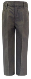 Royal Park Boys Pleated Gray School Pants