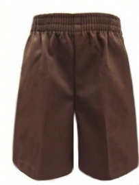 Rifle Pre-School Brown Elastic Pull Up Uniform Shorts