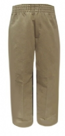 School Apparel-Tulane Elastic Waist Pull Up School Uniform Pants