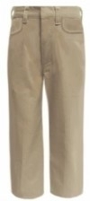 Classroom Junior Flat Front Straight Leg School Pants<br>SALE ITEM: reg $19.95