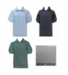 School Apparel-Tulane Jersey Short Sleeve Banded School Shirts
