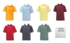 School Apparel - Tulane Pique Short Sleeve Hemmed School Shirts